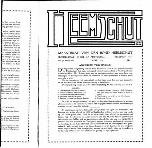 Heemschut - Tijdschrift 1924-2018 1928-04-01