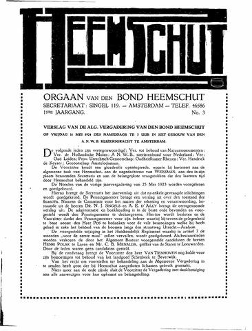 Heemschut - Tijdschrift 1924-2018 1924-06-03