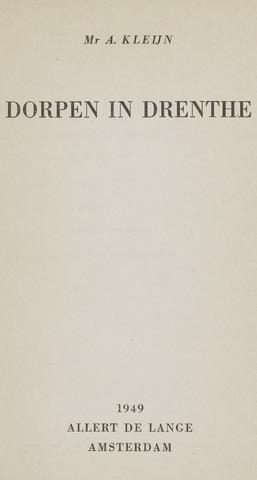 Heemschutserie - Boekje 1941-1954 1949-01-08