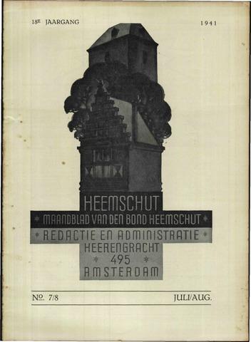 Heemschut - Tijdschrift 1924-2018 1941-08-01