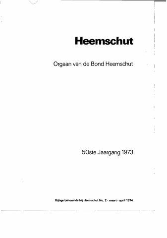 Index Heemschut 1947-2002 1973