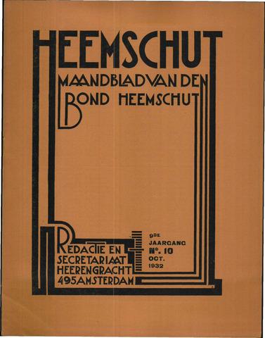 Heemschut - Tijdschrift 1924-2018 1932-10-01