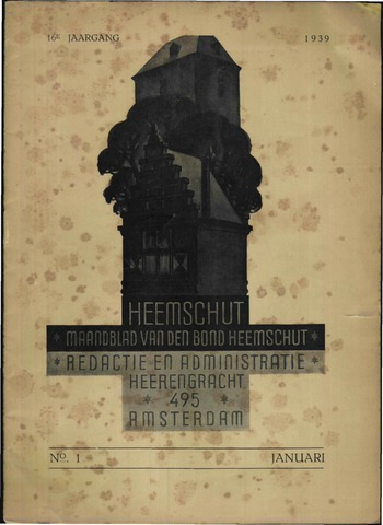 Heemschut - Tijdschrift 1924-2018 1939
