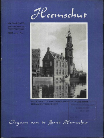 Heemschut - Tijdschrift 1924-2018 1951-02-01