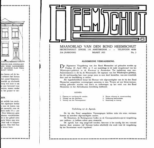 Heemschut - Tijdschrift 1924-2018 1925-03-03