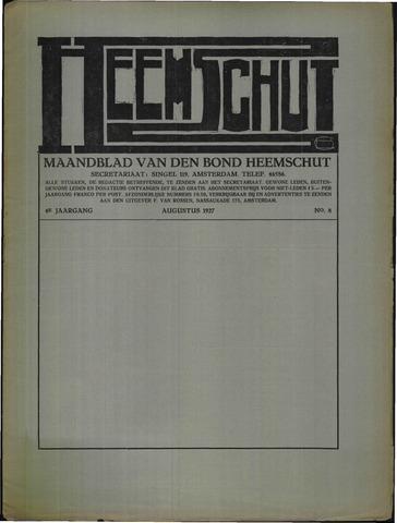Heemschut - Tijdschrift 1924-2018 1927-08-01