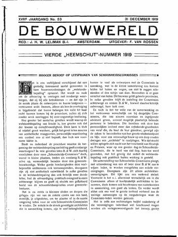Bouwwereld 1918-1923 1919-12-31