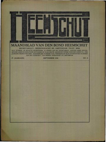 Heemschut - Tijdschrift 1924-2018 1930-09-01