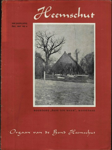 Heemschut - Tijdschrift 1924-2018 1947-12-01