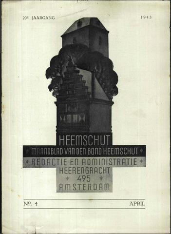 Heemschut - Tijdschrift 1924-2018 1943-04-01
