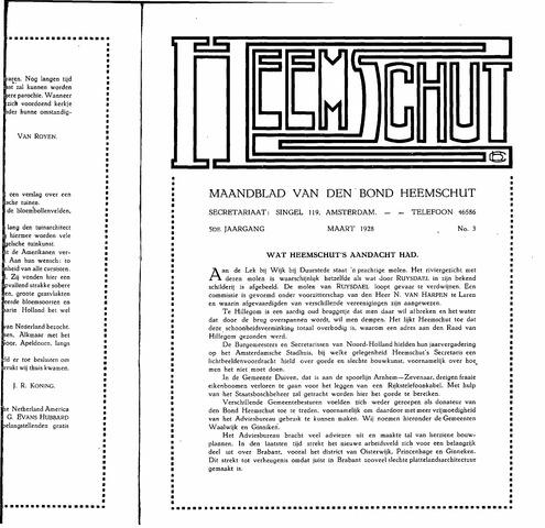 Heemschut - Tijdschrift 1924-2018 1928-03-01