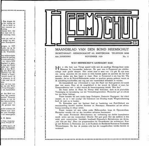 Heemschut - Tijdschrift 1924-2018 1929-11-01
