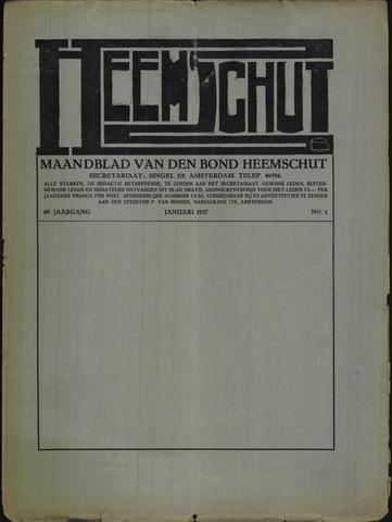 Heemschut - Tijdschrift 1924-2018 1927-01-01