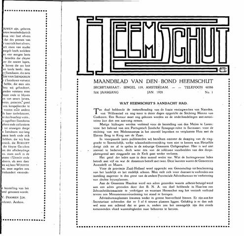 Heemschut - Tijdschrift 1924-2018 1928-01-01