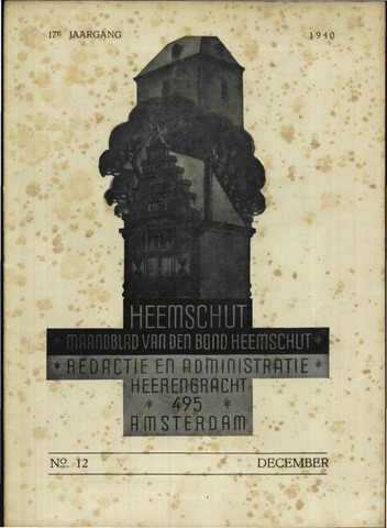 Heemschut - Tijdschrift 1924-2018 1940-12-01