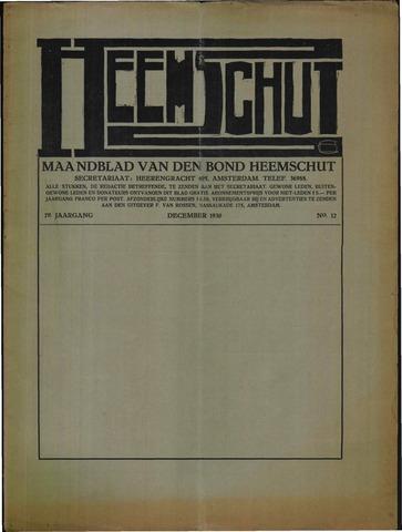 Heemschut - Tijdschrift 1924-2018 1930-12-01