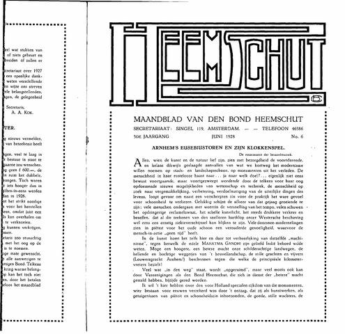 Heemschut - Tijdschrift 1924-2018 1928-06-01