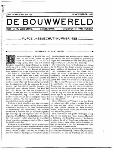 Bouwwereld 1918-1923 1922-11-15