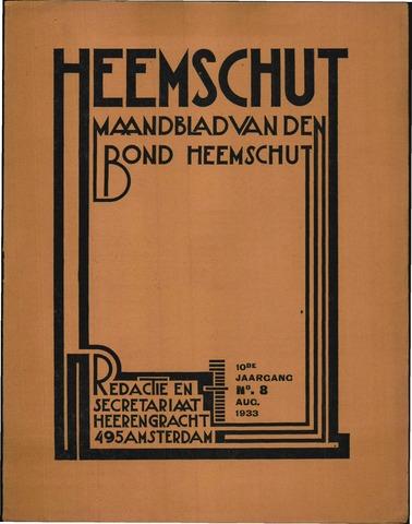 Heemschut - Tijdschrift 1924-2018 1933-08-01