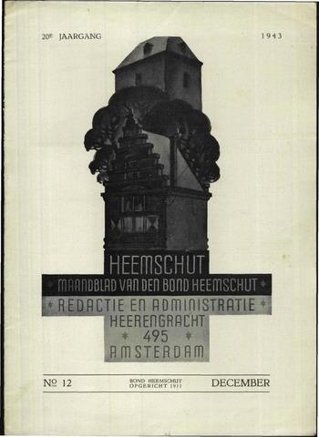 Heemschut - Tijdschrift 1924-2018 1943-12-01