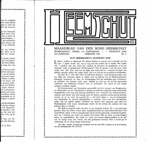 Heemschut - Tijdschrift 1924-2018 1929-02-01