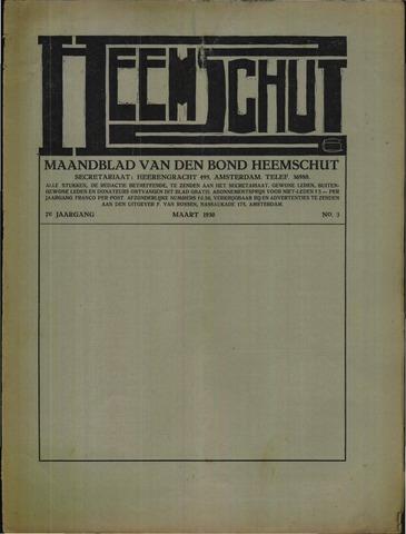 Heemschut - Tijdschrift 1924-2018 1930-03-01