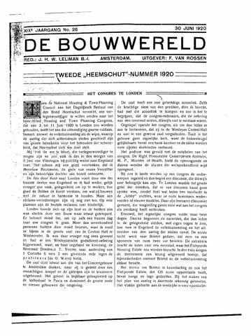 Bouwwereld 1918-1923 1920-06-30