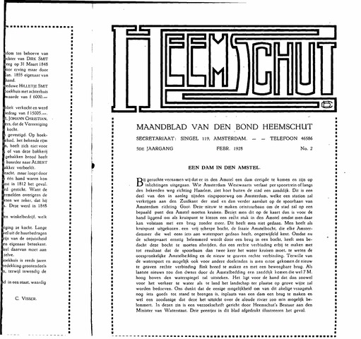 Heemschut - Tijdschrift 1924-2018 1928-02-01