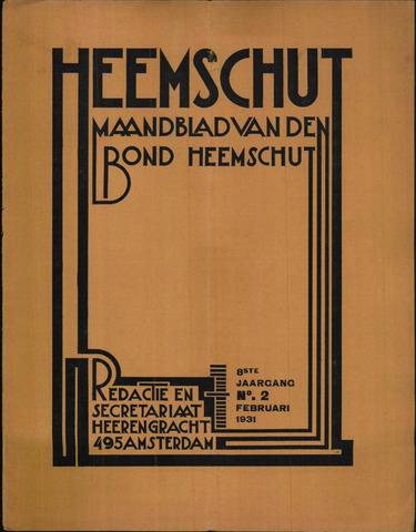 Heemschut - Tijdschrift 1924-2018 1931-02-01