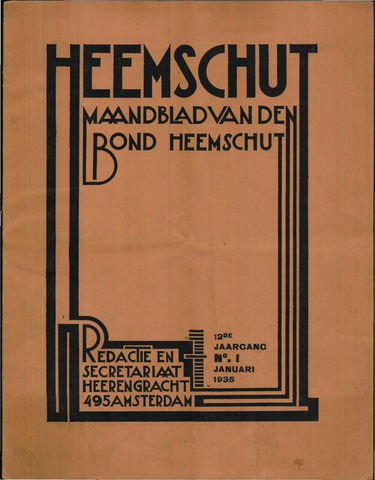 Heemschut - Tijdschrift 1924-2018 1935
