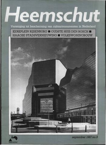 Heemschut - Tijdschrift 1924-2018 1987-09-01