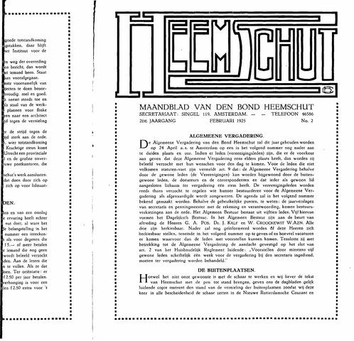 Heemschut - Tijdschrift 1924-2018 1925-02-02