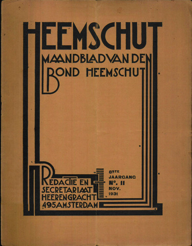 Heemschut - Tijdschrift 1924-2018 1931-11-01
