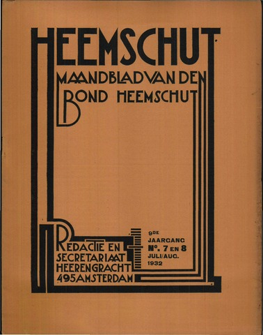 Heemschut - Tijdschrift 1924-2018 1932-07-01