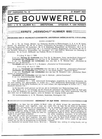 Bouwwereld 1918-1923 1920-03-31