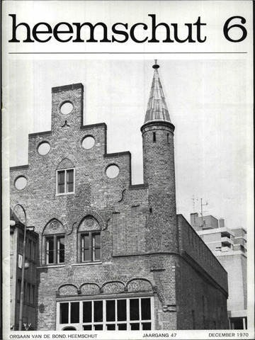 Heemschut - Tijdschrift 1924-2018 1970-12-01