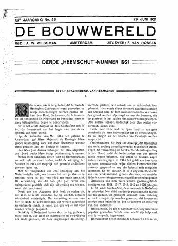Bouwwereld 1918-1923 1921-06-19