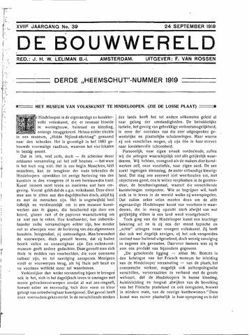 Bouwwereld 1918-1923 1919-09-24