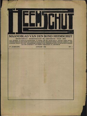 Heemschut - Tijdschrift 1924-2018 1930-01-01