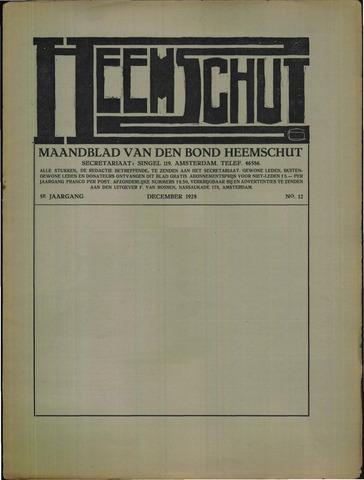 Heemschut - Tijdschrift 1924-2018 1928-12-01