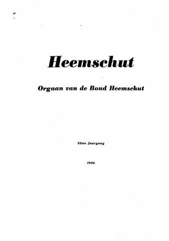 Index Heemschut 1947-2002 1956