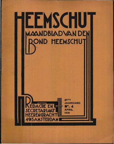 Heemschut - Tijdschrift 1924-2018 1931-04-01