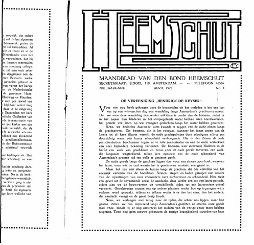 Heemschut - Tijdschrift 1924-2018 1925-04-04