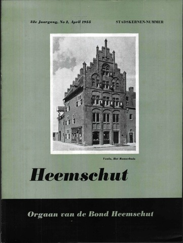 Heemschut - Tijdschrift 1924-2018 1955-04-01