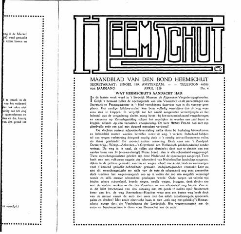 Heemschut - Tijdschrift 1924-2018 1929-04-01