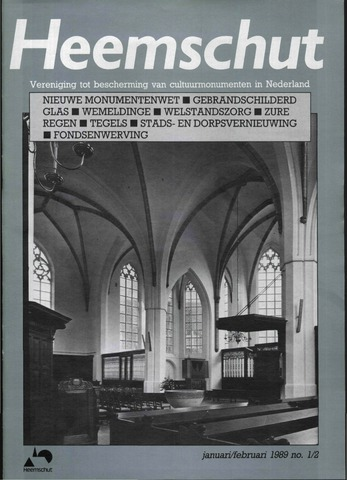 Heemschut - Tijdschrift 1924-2018 1989-02-01