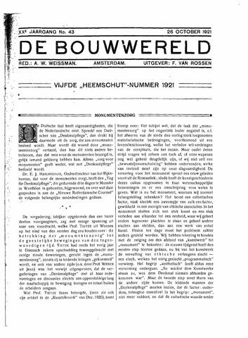 Bouwwereld 1918-1923 1921-10-26