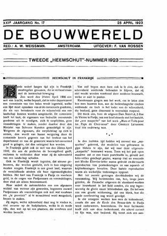 Bouwwereld 1918-1923 1923-04-25