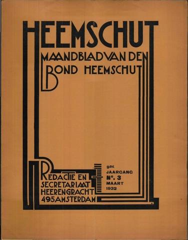 Heemschut - Tijdschrift 1924-2018 1932-03-01