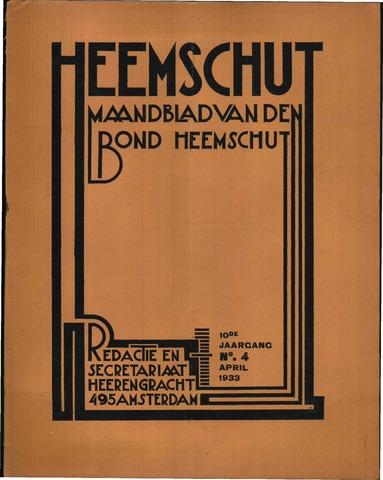 Heemschut - Tijdschrift 1924-2018 1933-04-01